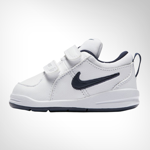 04b62f81 Infants Nike Pico 4 White/Navy Shoe