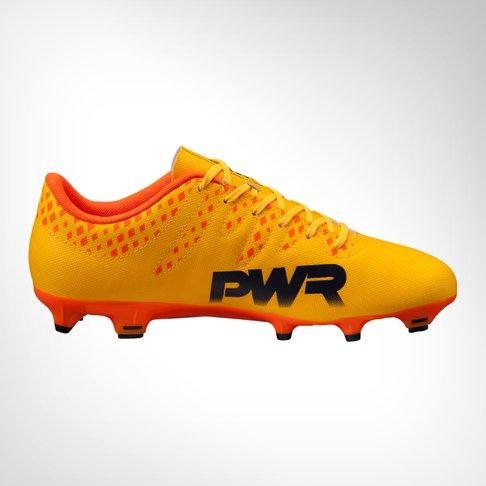 0158b85f0 Men's Puma Evopower Vigor 4 FG Yellow/Orange Boot