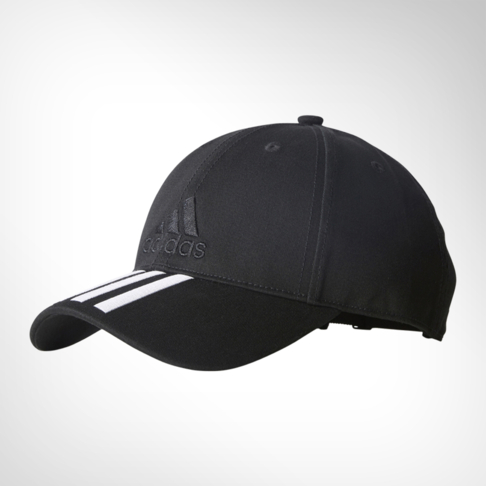 0d6d8084bfd adidas 6-panel Classic 3-stripes Black Cap