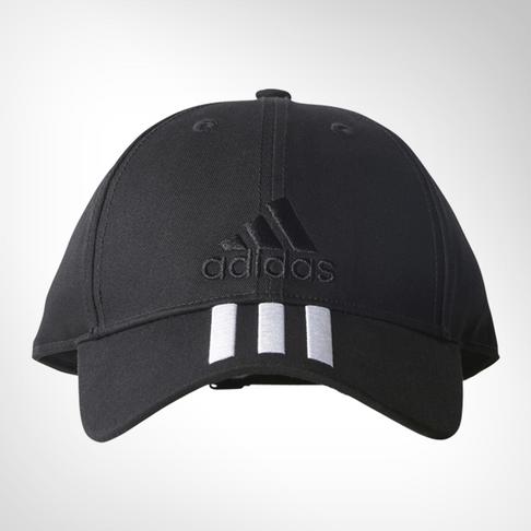 75d5cebfc97 adidas 6-panel Classic 3-stripes Black Cap
