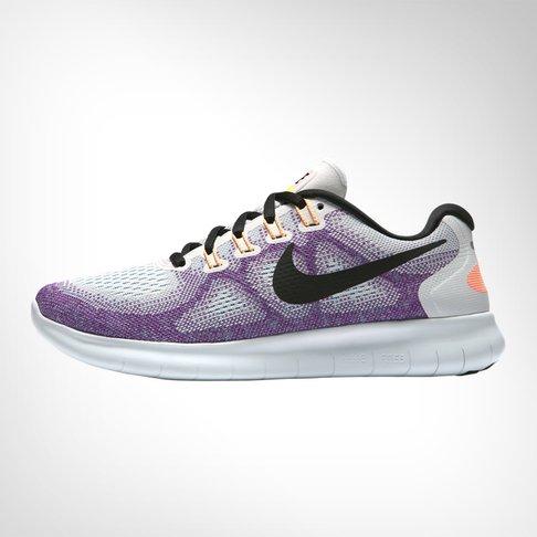Women s Nike Free Run 2 White Peach Shoe 5f7a7a71d6ff