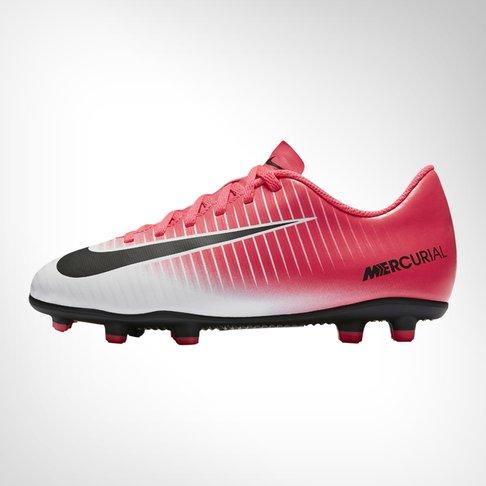 on sale 38f2c e6bda Junior Nike Mercurial Vortex III FG PinkBlack Boot