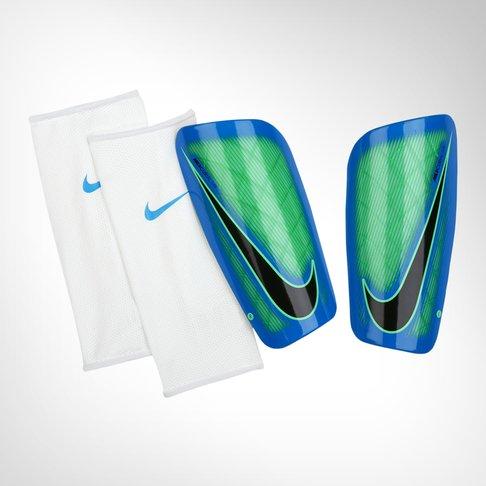 Nike Mercurial Lite Green   Blue Shin Guard f5ae3fa80