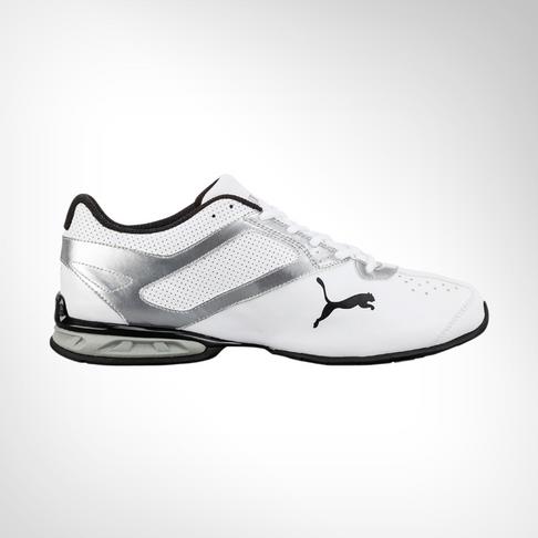 huge discount e1343 e776b Men s Puma Tazon 6 White Black Shoe