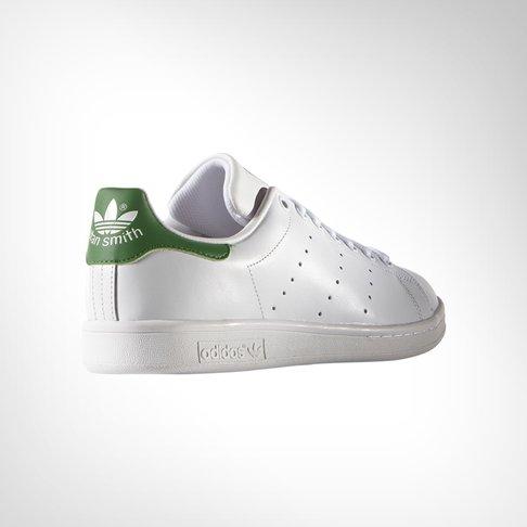 588e16640659a5 Men s Adidas Stan Smith White Green Shoe