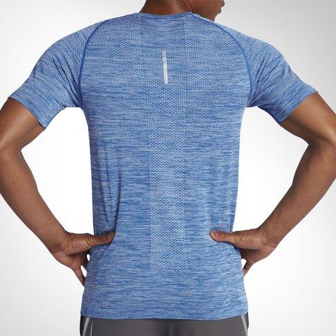 b8591d087 Nike Dri-FIT Knit Men's Running Blue T-shirt