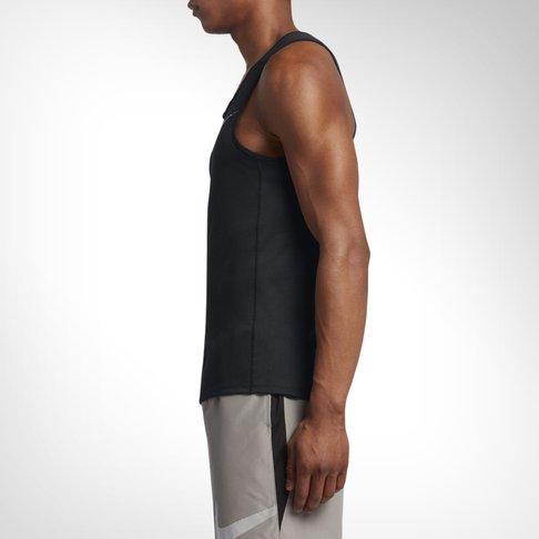 31412120f1789 Men s Nike Dry Miler Running Black Tank