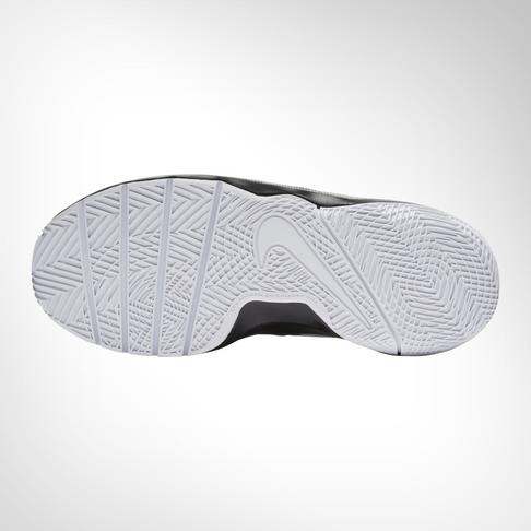 7703e9aa52ad Grade School Nike Team Hustle Quick Black White Shoe