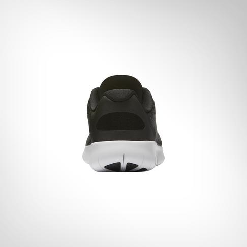 Boy s Grade School Nike Free Run 2 Black White Shoe a149255ba