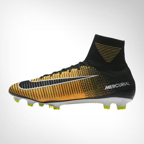 d6e9b34419dd Men s Nike Mercurial Superfly V FG Orange Black Boot