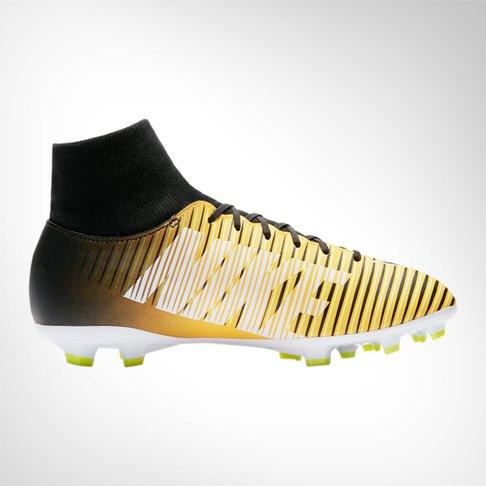 eb636303e Junior Nike Mercurial Victory VI Dynamic Fit FG Orange Black Boot