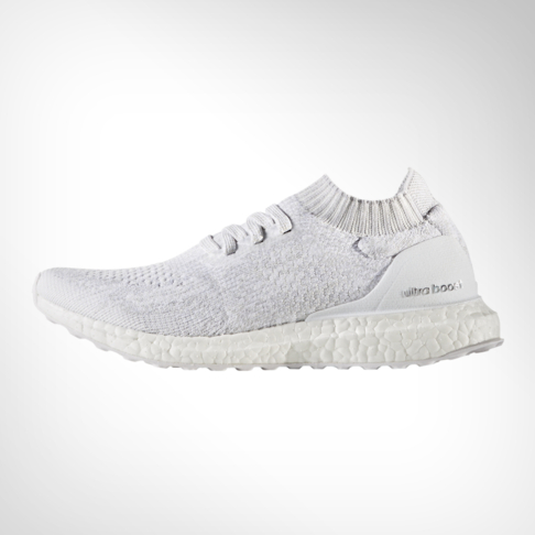 watch dd416 a9a9b Women's adidas Ultra Boost Uncaged White Shoe