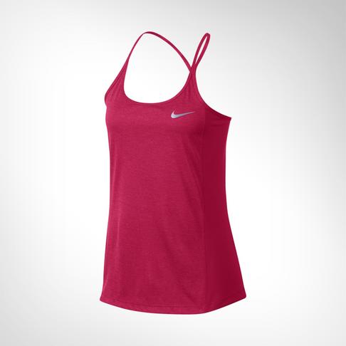fc2618606208b0 Women s Nike Dry Miler GX White Running Tank