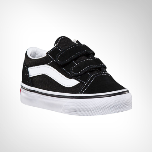 4cc4841a919157 Infants Van Old Skool Black White Shoe