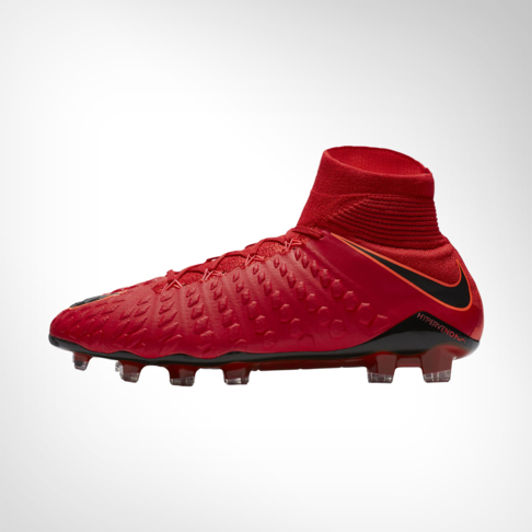 new arrival dfc40 df8a1 Men s Nike Hypervenom Phantom III Dynamic Fit Firm-Ground Football  Red Black Boot