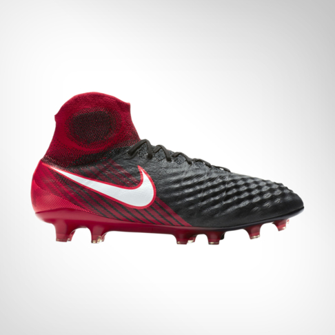 70609e314f1a Men s Nike Magista Obra II Firm Ground Football Red Black Boot