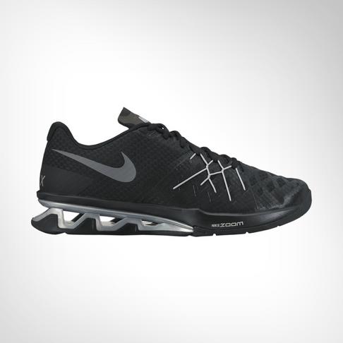 Men s Nike Reax Lightspeed II Black Silver Training Shoe 3bb8b886c
