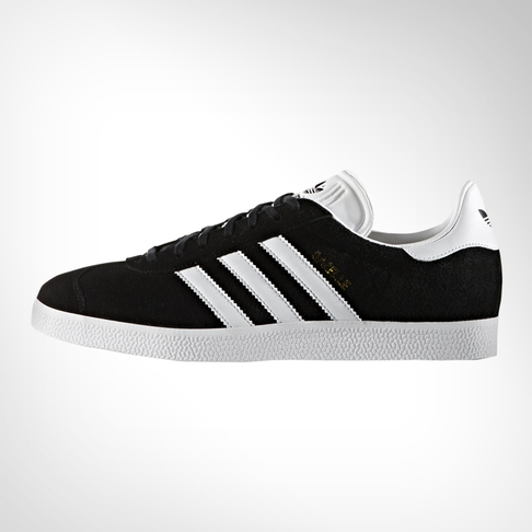 best loved ac3e7 d0947 Mens adidas Gazelle BlackWhite Shoe