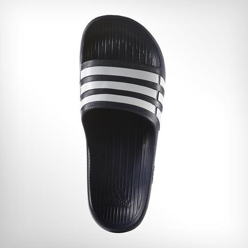 4152896c59b2 Men s adidas Duramo Navy White Slide