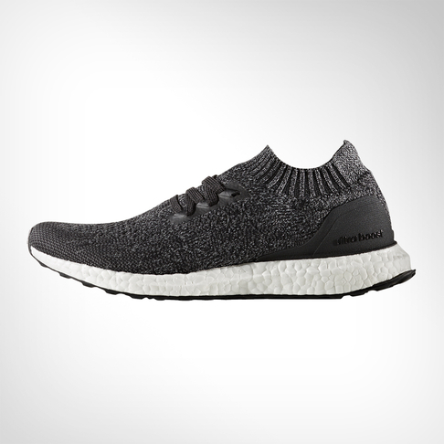 new arrival dc259 f403f Men s adidas Ultra Boost Uncaged Black Grey Shoe