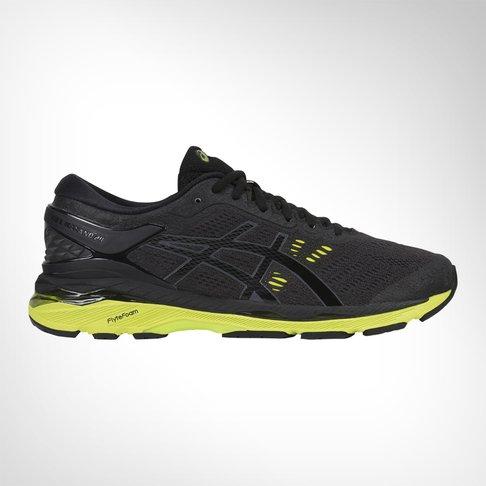 03c1219cb6c Men s Asics Gel Kayano 24 Black Green Shoe