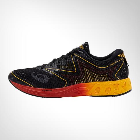 9dfcdd2b4d3f Men s Asics Gel Noosa Flyte Foam Black Orange Shoe
