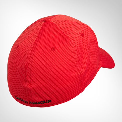 ece277ee708 Under Armour Blitzing II Stretch Fit Red Cap