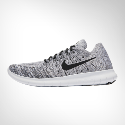 7173a1ee05f Men s Nike Free RN Flyknit 2017 Grey Black Shoe