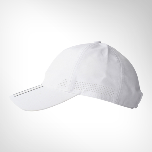 7ff18fd6524 adidas 6-panel Climacool 3-stripes White Cap