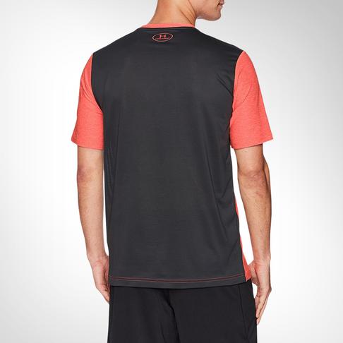 dfc34098 Men's Under Armour Raid Graphic Orange T-shirt