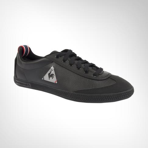 3f145429927 Men's Le Coq Sportif Provencale Low Craft PU Black Shoe