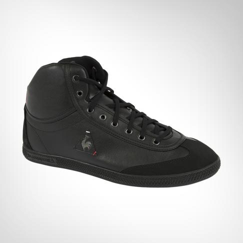 new concept 0613f b2fee Men s Le Coq Sportif Provencale Mid Craft PU Black Shoe