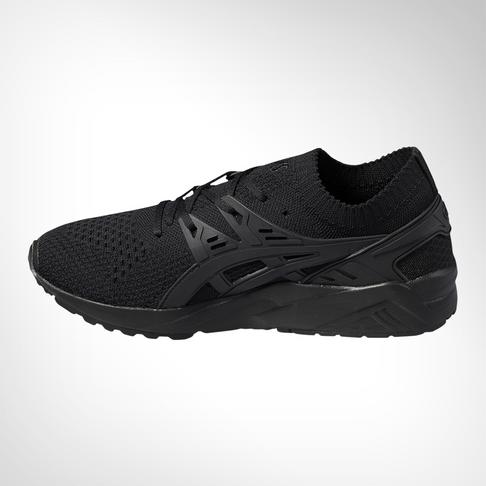 the best attitude 66c82 36281 Men's Asics Gel Kayano Trainer Knit Lo Black Shoe