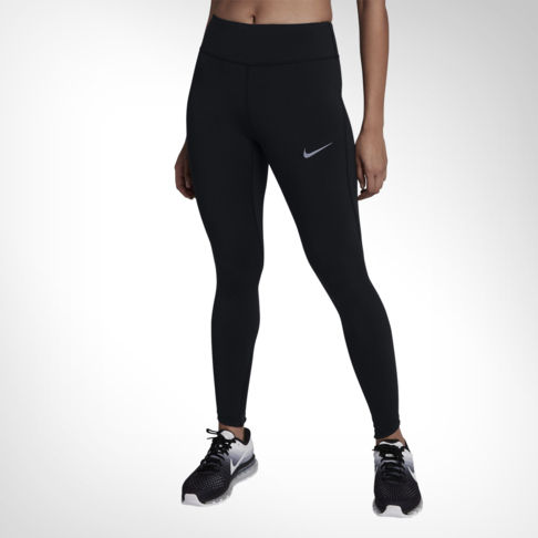 Women s Nike Epic Lux Mesh Black Running Tights 369e4f71e