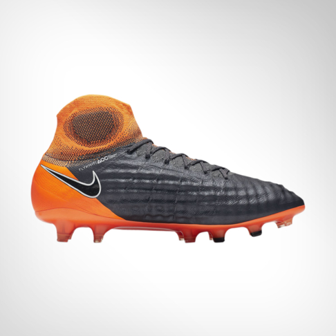 on sale c26ae f2b27 Men s Nike Magista Obra 2 Elite DF FG Grey Orange Boot