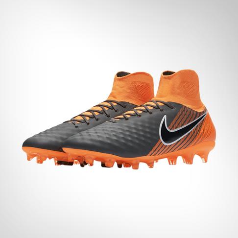 e440b52e01e3 Men's Nike Magista Obra 2 Pro DF FG Grey/Orange Boot