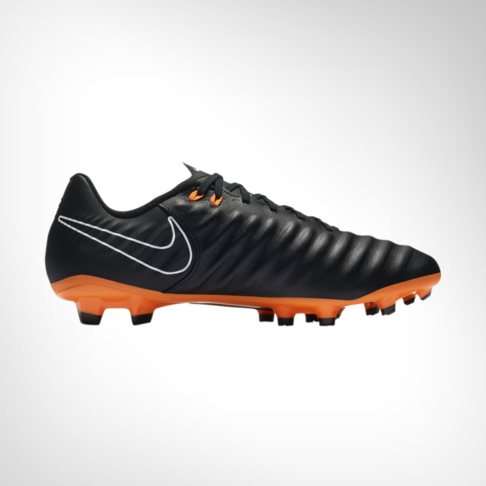 release date d9845 e6531 Men's Nike Tiempo Legend 7 Academy FG Black/Orange Boot