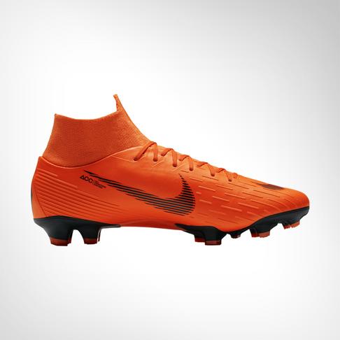 990acf2a8588c Men s Nike Mercurial Superfly 6 Pro DF FG Orange White Boot