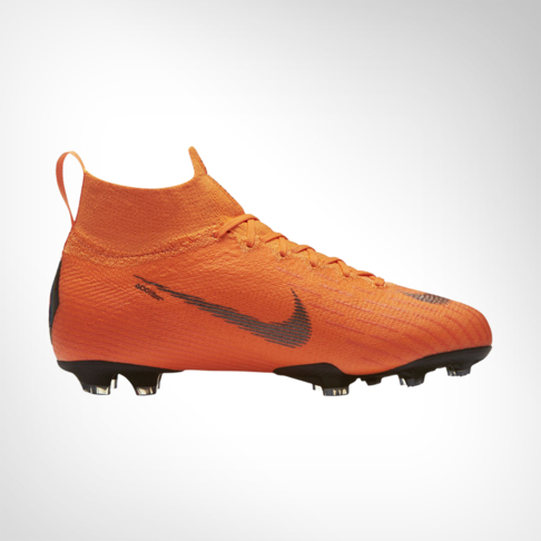 780759f97227 Junior Nike Mercurial Superfly 6 Elite DF FG Orange/White Boot