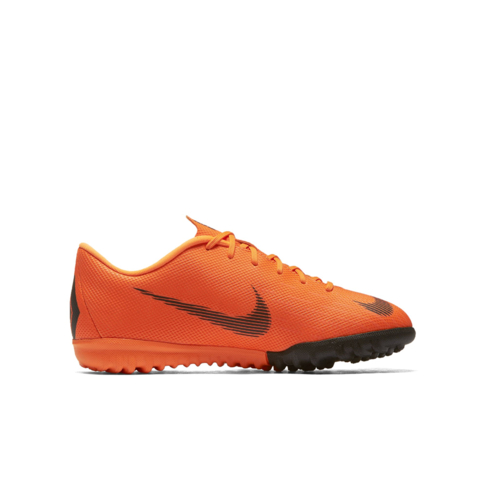 new arrival 28ba7 9242f Junior Nike Mercurial VaporX 12 Academy TF Orange/White Boot