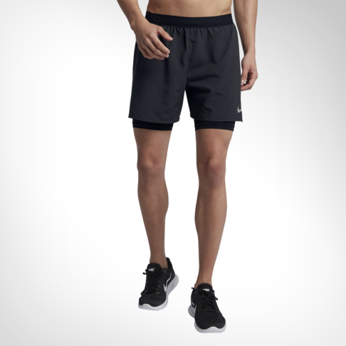 555df64d2c08 Men s Nike Flex Stride 2-in-1 Black Running Shorts