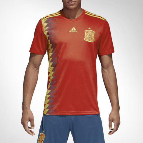 Men s adidas Spain Home Replica Jersey d591a99ba