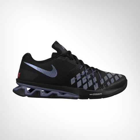 Men s Nike Reax LightSpeed II Black Grey Shoe 5fb205734