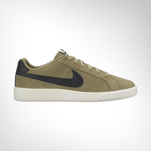check out f0ac4 0da08 Men s Nike Court Royale Khaki Suede Shoe