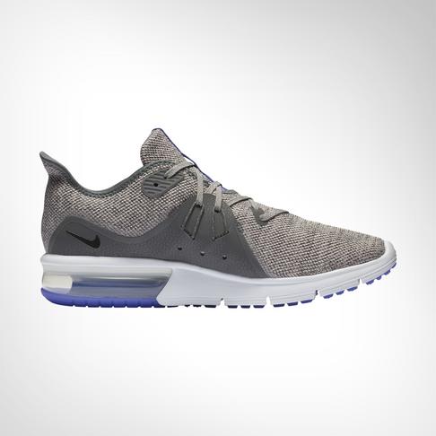 moins cher c9faa e0038 Men's Nike Air Max Sequent 3 Grey Shoe
