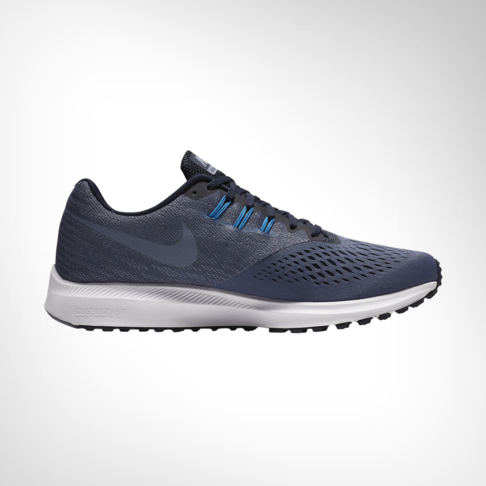 reputable site b8be1 d798c Men's Nike Zoom Winflo 4 Blue Shoe