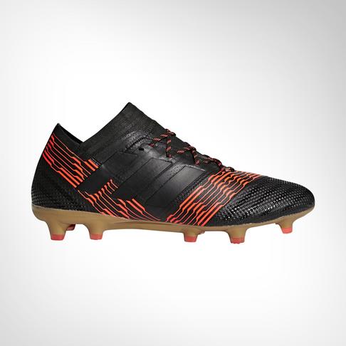 79b7c0d3efc4 Men s adidas Nemeziz 17.1 Black Red FG Boot