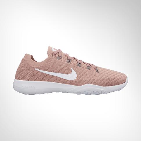 new style 74179 70f95 Women s Nike Free TR Flyknit 2 Pink White Shoe