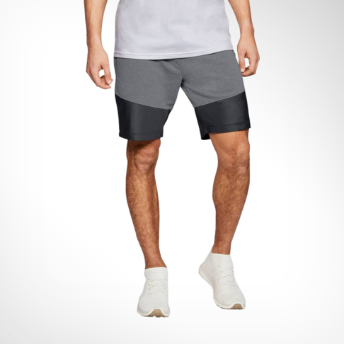 biggest discount select for official size 40 Men's Under Armour Microthread Terry Grey/Black Short