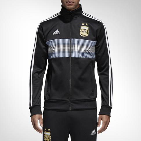 fefc2be56d09 Men s adidas Argentina 3-stripes Track Top